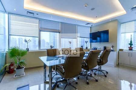 Office for Rent in Jumeirah Lake Towers (JLT), Dubai - Fitted and Furnished | Vacant  31 May2021