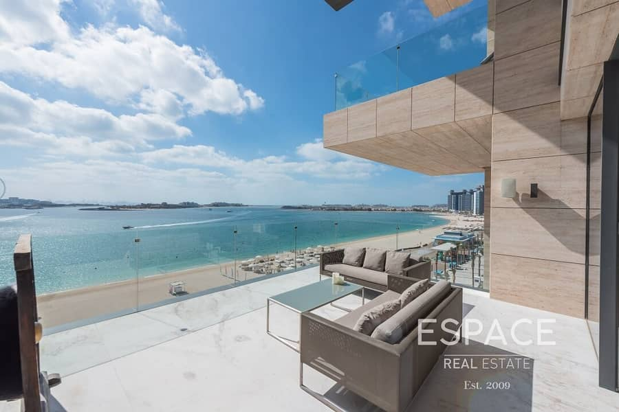 Luxury 3 Bed | Vacant | Full Sea Views with Beach Access