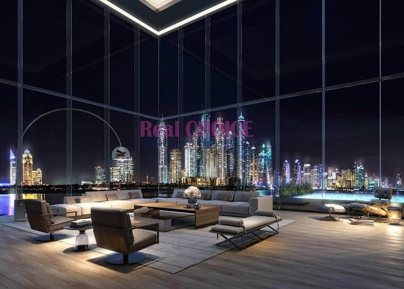 Bright Corner Layout|Full Sea and Burj Arab View