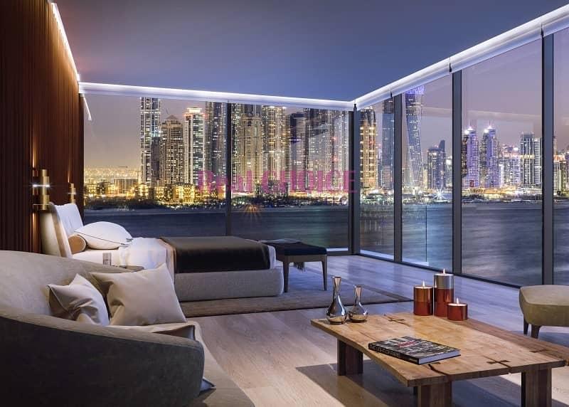 2 Bright Corner Layout|Full Sea and Burj Arab View