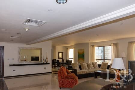 3 Bedroom Apartment for Rent in Jumeirah Beach Residence (JBR), Dubai - Low Floor | Community View | Fully Furnished