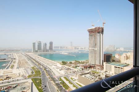 شقة 3 غرف نوم للبيع في دبي مارينا، دبي - Three Bedroom | Full Sea View | High Floor