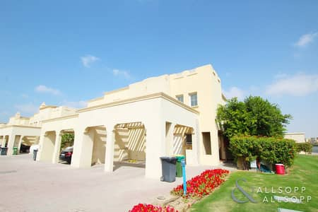 تاون هاوس 3 غرف نوم للايجار في الينابيع، دبي - Type 2E | Single Row | Private Pool | 3Bed