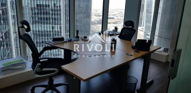 مکتب  للايجار في الخليج التجاري، دبي - Fully Furnished Office for Rent in Burlington