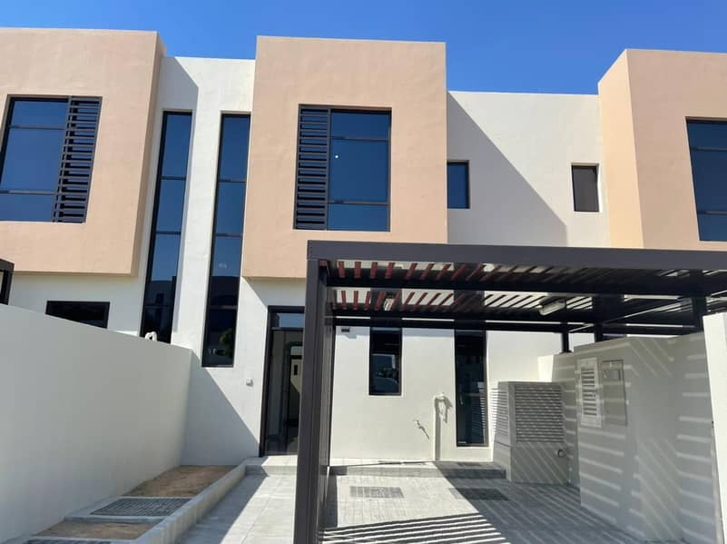 Brand New 2 Bedrooms Luxurious Town House in  Nasma Residence for rent  55,000 AED