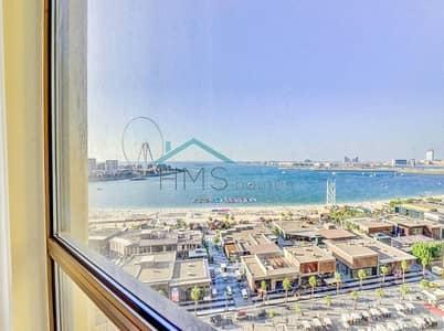 فلیٹ 3 غرف نوم للايجار في جميرا بيتش ريزيدنس، دبي - 3BR Rimal 6 Sea View Furnished Unit - JBR