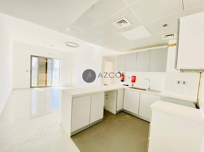 2 Pool View 1BR W/Maid|Huge Balcony|Highly Finished
