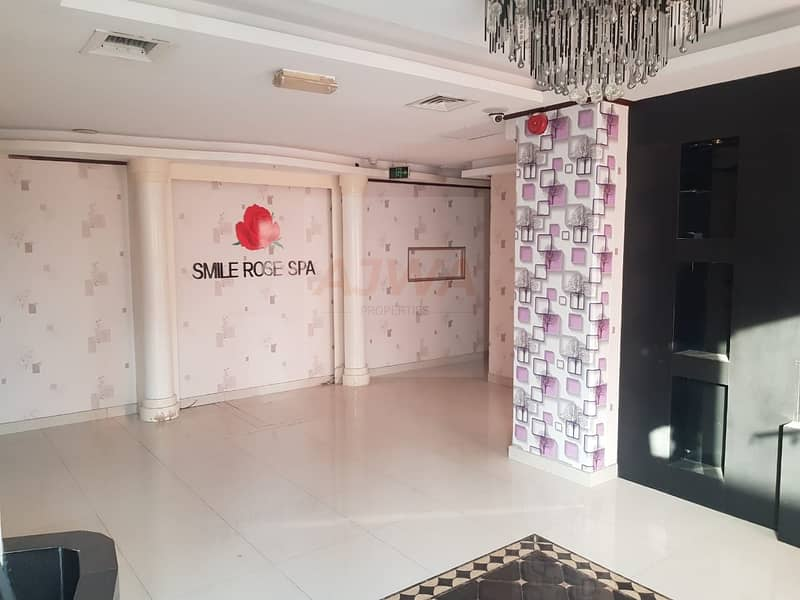 READY SPA SHOP FOR RENT