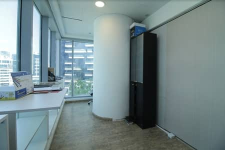 Office for Sale in Business Bay, Dubai - Fully Fitted Office |Glass Partitioned| Lake View