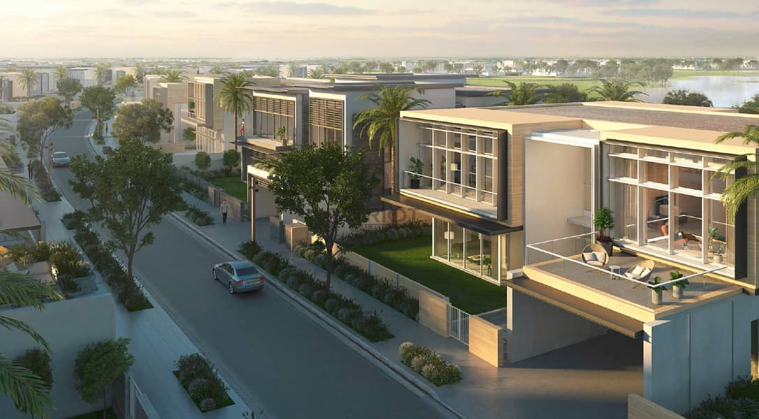 11 4 bed Villa | Single row | 5 years payment plan