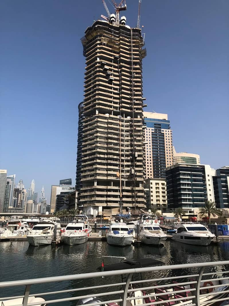 6 YEARS BEST PAYMENT PLAN | LAST WATER FRONT PROJECT DUBAI MARINA |