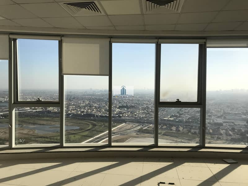 High Floor | Canal & Burj Al Arab View | Open Plan Fitted | Pantry