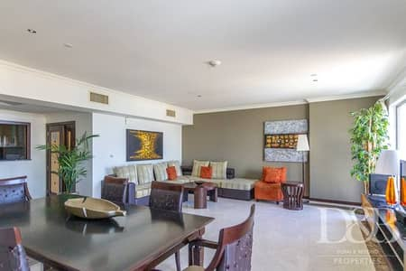 3 Bedroom Apartment for Rent in Jumeirah Beach Residence (JBR), Dubai - Palm View | High Floor | Fully Furnished