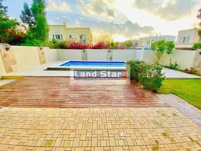 فیلا 3 غرف نوم للبيع في الينابيع، دبي - Big Plot | Corner Unit | Private Pool | Type 3E