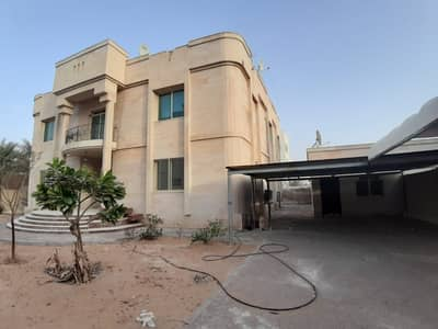 7 Bedroom Villa for Rent in Khalifa City A, Abu Dhabi - Stand Alone 7-BR Villa walking distance to Al Forsan Mall (suitable for family or company staff)