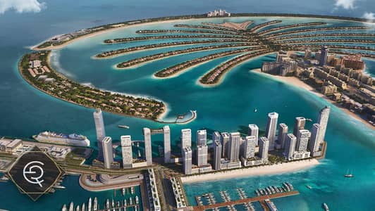 2 Bedroom Flat for Sale in Dubai Harbour, Dubai - Luxury 2 Bedroom Beachfront| 4 years installments + DLD WAIVER!