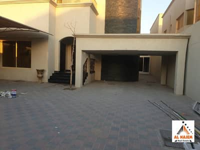 A luxurious modern villa for rent, second inhabitant with citizen electricity and air conditioners in Al Rawda area in Ajman