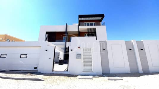 6 Bedroom Villa for Rent in Al Shamkha South, Abu Dhabi - BRAND NEW STAND ALONE 6 BEDS+DRIVER 250K