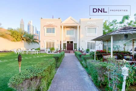 5 Bedroom Villa for Rent in Al Badaa, Dubai - Massive Layout   Furnished   with Driver's and Maid's Room