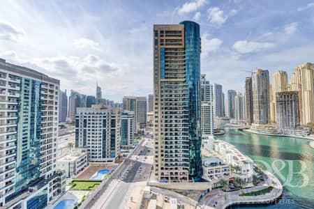 شقة 2 غرفة نوم للايجار في دبي مارينا، دبي - Marina View | Great Location | Available Now
