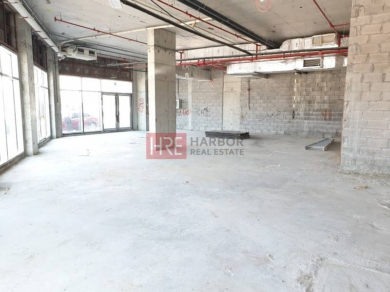 Shell & Core | Retail Space | 1311 Sq.Ft