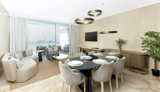 2 Bedroom Apartment for Rent in Palm Jumeirah, Dubai - Real Listing | High floor | Good Storage