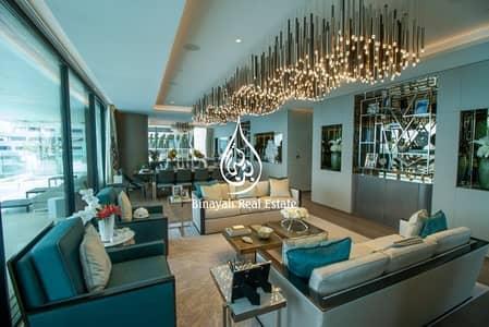 5 Bedroom Penthouse for Sale in Palm Jumeirah, Dubai - Premium Penthouse 5 Bed + Staff Duplex + Roof Terrace  