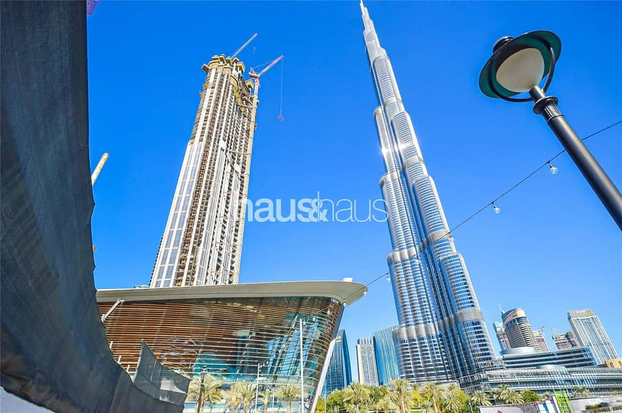Half Floor Penthouse   Burj Khalifa View   No Fees
