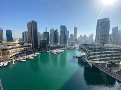 1 Bedroom Apartment for Rent in Dubai Marina, Dubai - Huge 1B/R \\ High Floor \\ Fully furnished