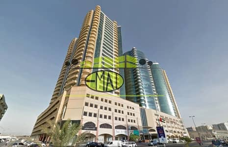 2 Bedroom Apartment for Sale in Ajman Downtown, Ajman - 2Bhk in horizon tower for sale with balcony 3bathrooms in ajman