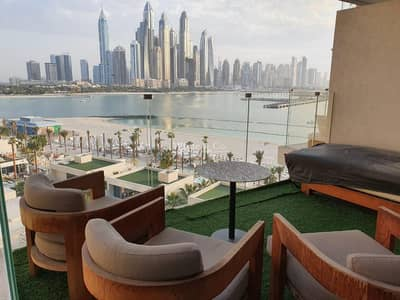 فلیٹ 1 غرفة نوم للايجار في نخلة جميرا، دبي - Best Sea View | Big Layout | Marina View