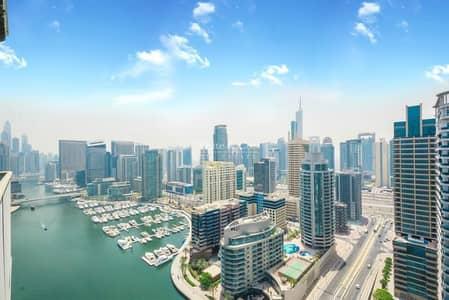 2 Bedroom Apartment for Rent in Dubai Marina, Dubai - FULL MARINA VIEW|5 STAR RATING | MODERN