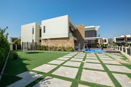 6 Bedroom Villa for Sale in DAMAC Hills (Akoya by DAMAC), Dubai - 180 Degree Golf ViewS l Biggest 6 Bed Villa