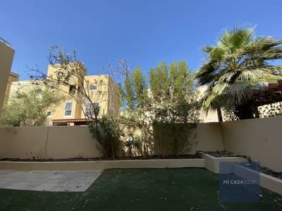 4 Bedroom Townhouse for Rent in Al Raha Gardens, Abu Dhabi - Ready to move in | Gorgeous garden view! | Balcony