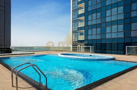 1 Bedroom Flat for Rent in Corniche Area, Abu Dhabi - Furnished apartment one room and a hall in Abu Dhabi port