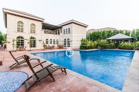 7 Bedroom Villa for Rent in The Villa, Dubai - 6BR+S+M+D | Big Pool | Parks