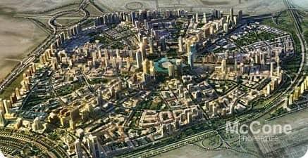 ارض سكنية  للبيع في قرية جميرا الدائرية، دبي - Park Facing | Corner Plot | Located on Main Road
