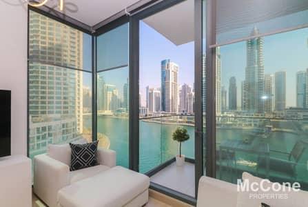 شقة 2 غرفة نوم للبيع في دبي مارينا، دبي - Exclusive | Full Marina View | Corner Apartment