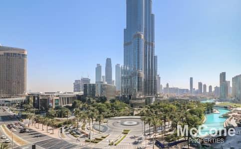 شقة 1 غرفة نوم للبيع في وسط مدينة دبي، دبي - Spectacular Burj Khalifa & Fountain View