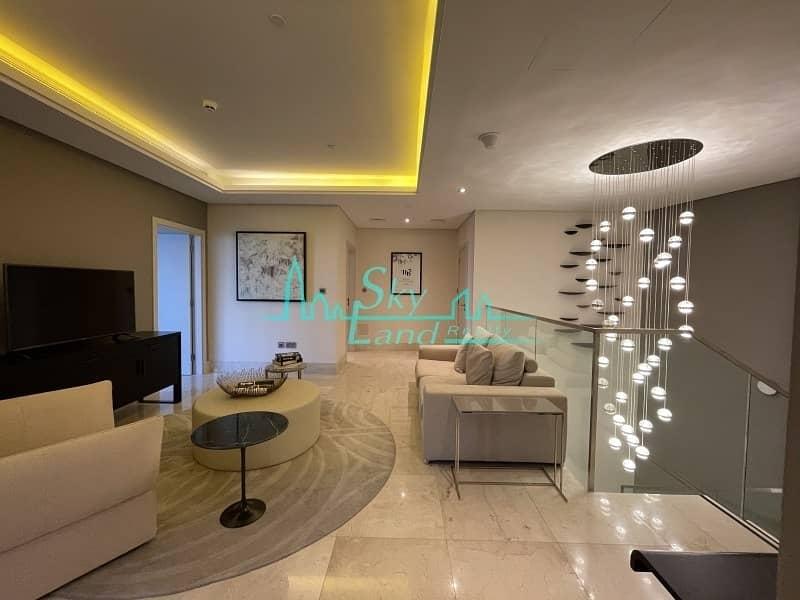 2 The 8 Hotel|4-BR Townhouse|Palm Jumeirah View|Superb Garden
