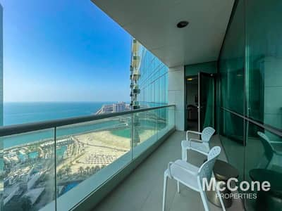 3 Bedroom Flat for Sale in Jumeirah Beach Residence (JBR), Dubai - Sea Views | Immaculate Finish | Beach Access