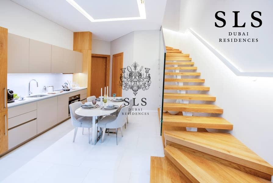 2 SLS Branded 1 Bedroom Duplex with a 3 year post handover payment plan