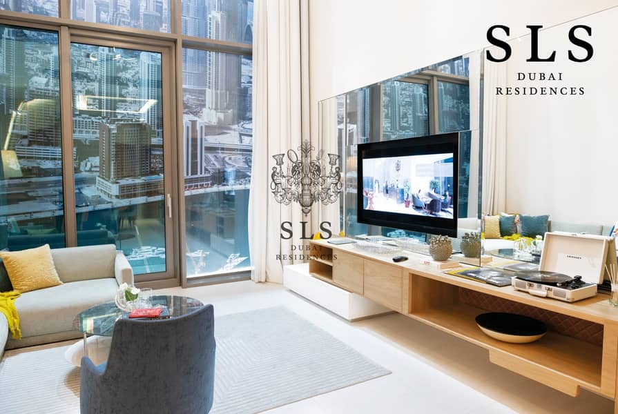 25 SLS Branded 1 Bedroom Duplex with a 3 year post handover payment plan