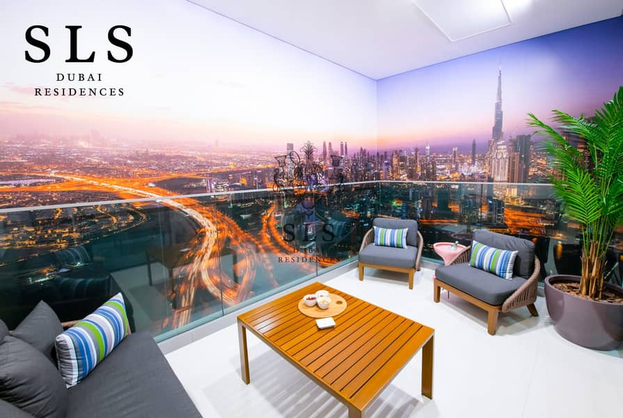 14 SLS Branded Studio Apartment in the Heart of Business Bay with a 3 year post handover payment plan