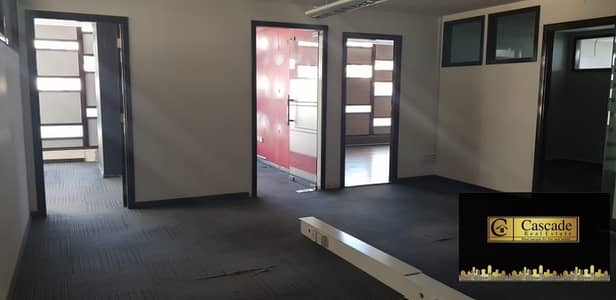 Deira : Maktoum Street - 2700sqft fitted office space with C a/c and parking  inwell maintain bldg  available for rent .