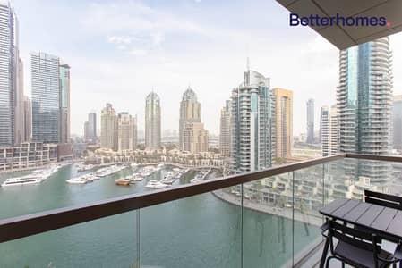 شقة 2 غرفة نوم للبيع في دبي مارينا، دبي - Full Marina View | Great ROI | Unfurnished