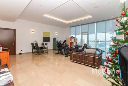 شقة 3 غرف نوم للايجار في نخلة جميرا، دبي - Upgraded | Spacious Corner Unit | Vacant in Feb