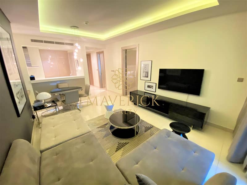 2 Luxury Furnished 1BR   Iconic View   4 Cheques