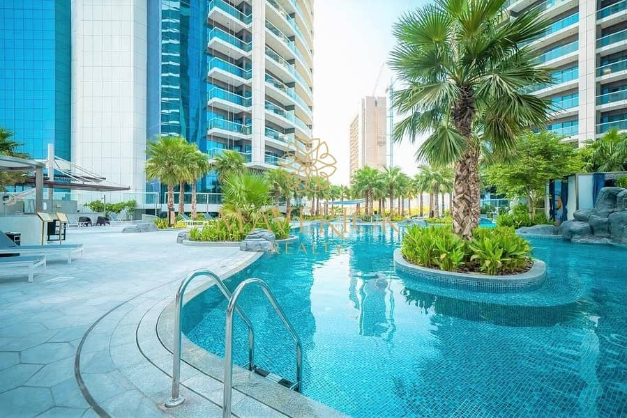 58 Luxury Furnished 1BR | Iconic View | 4 Cheques