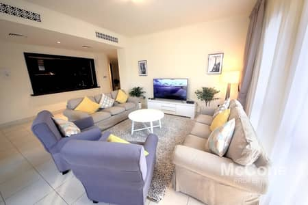 3 Bedroom Apartment for Rent in Old Town, Dubai - Fully Furnished | Pool View | Maid + Study Room